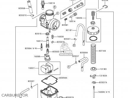 Kawasaki 2000 Z3: Kx80 parts list partsmanual partsfiche