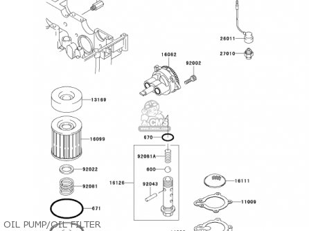 Kawasaki 2001 Ex250-f15 Ninja 250r parts list partsmanual