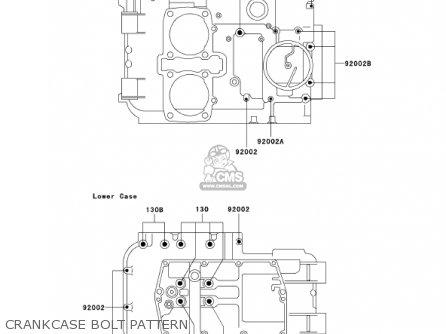 Kawasaki 2001 Ex500-d8 Ninja 500r parts list partsmanual