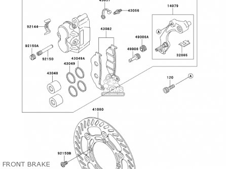 Kawasaki 2001 Kdx200-h7 Kdx200 parts list partsmanual