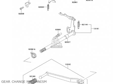 Kawasaki 2001 Ke100-b20 Ke100 parts list partsmanual