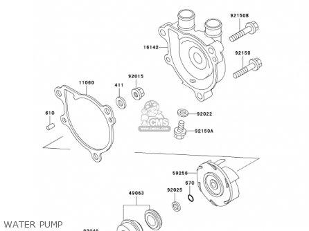 Kawasaki 2001 Kl650-a15 Klr650 parts list partsmanual