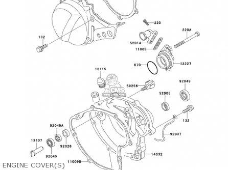 Kawasaki 2001 Kx60-b17 Kx60 parts list partsmanual partsfiche