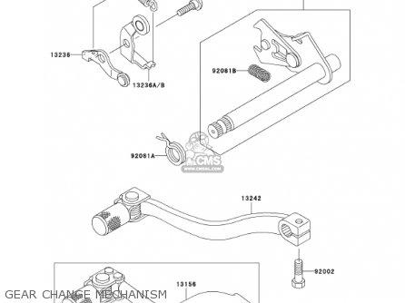 Kawasaki 2001 Kx65-a2 Kx65 parts list partsmanual partsfiche