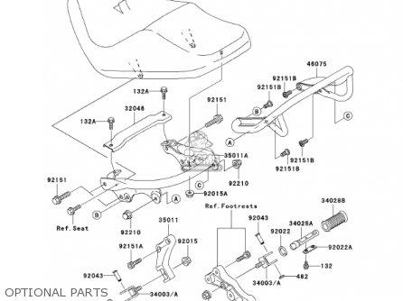 Kawasaki 2001 Vn1500-r1 Vulcan 1500 Drifter parts list