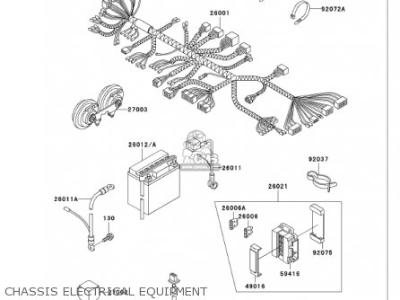 Kawasaki 2001 Vn750-a17 Vulcan 750 parts list partsmanual