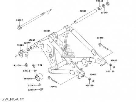 Kawasaki 2001 Vn800-a7 Vulcan 800 parts list partsmanual