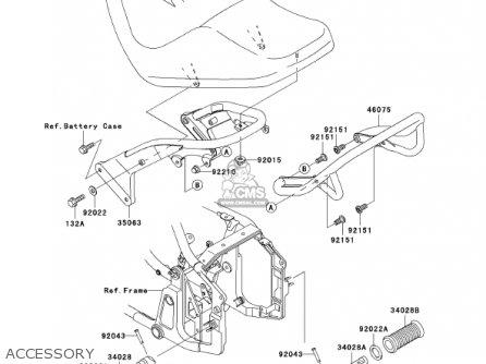 Kawasaki 2001 Vn800-e1 Vulcan 800 Drifter parts list