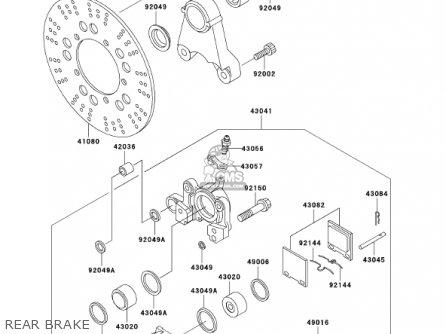 Kawasaki 2001 Zr1200-a1 Zrx1200r parts list partsmanual