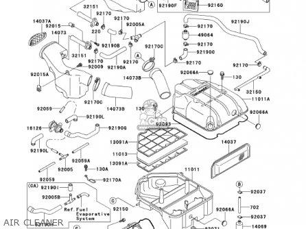Kawasaki 2001 Zx1100-d9 Ninja Zx-11 parts list partsmanual