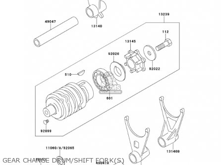 Kawasaki 2001 Zx600-e9 Ninja Zx-6 parts list partsmanual