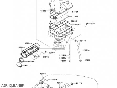 Kawasaki 2001 Zx900-e2 Ninja Zx-9r parts list partsmanual
