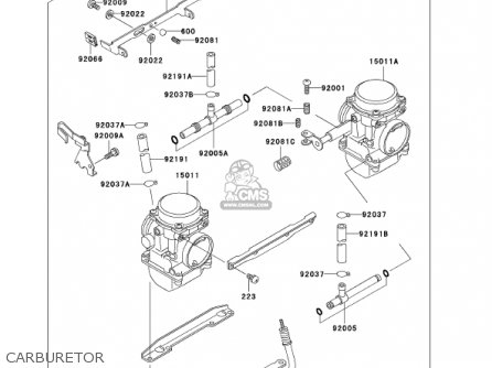 Kawasaki 2002 En500-c7 Vulcan 500 Ltd parts list