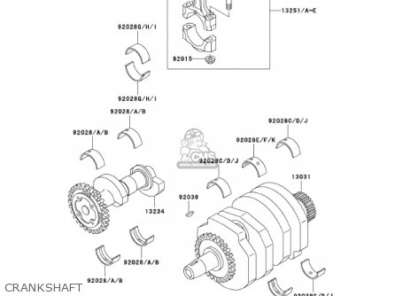 2007 Kawasaki Prairie 360 Carburetor Diagram, 2007, Free