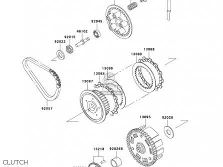 Kawasaki 2002 Ex500-d9 Ninja 500r parts list partsmanual