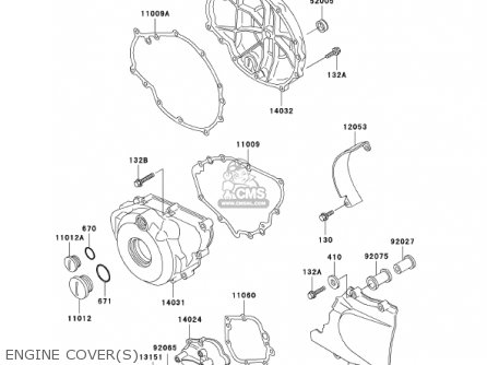 Kawasaki 2002 Ex500-d9 Ninja 500r parts list partsmanual