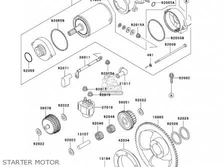 Kawasaki 2002 Kl650-a16 Klr650 parts list partsmanual