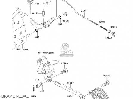 Kawasaki Klx 110 Parts Diagram Kawasaki 110 Dirt Bike