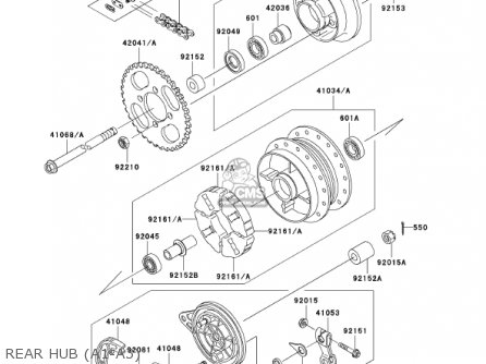 Kawasaki 2002 Klx110-a1 Klx110 parts list partsmanual