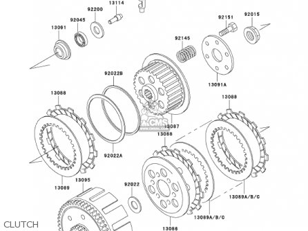 Kawasaki 2002 Klx300-a7 Klx300r parts list partsmanual