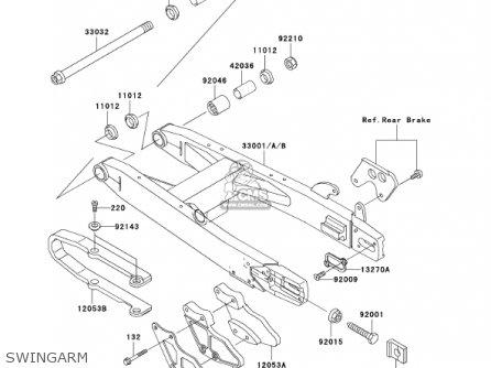 Kawasaki 2002 Kx100-d2 Kx100 parts list partsmanual partsfiche