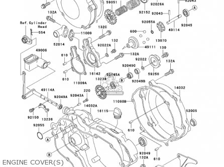 Kawasaki 2002 Kx125-l4 Kx125 parts list partsmanual partsfiche
