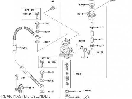 Kawasaki 2002 Kx125-l4 Kx125 parts list partsmanual partsfiche