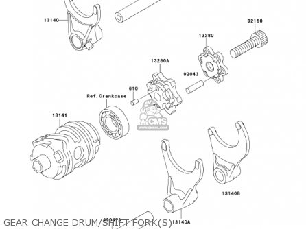 Kawasaki 2002 Kx250-l4 Kx250 parts list partsmanual partsfiche