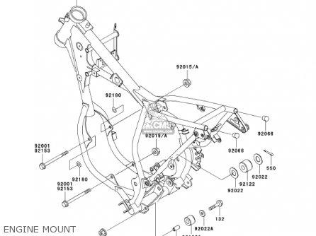 Kawasaki 2002 Kx65-a3 Kx65 parts list partsmanual partsfiche