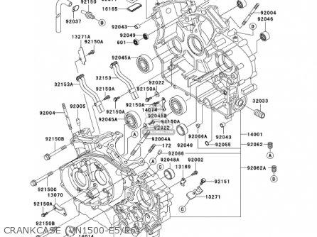 Kawasaki 2002 Vn1500-e5 Vulcan 1500 Classic parts list
