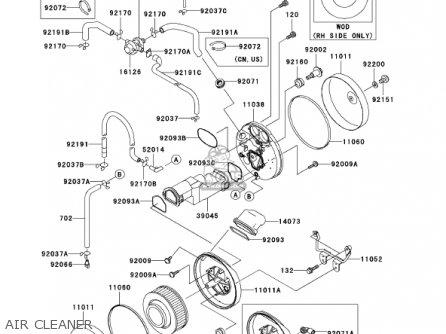 Kawasaki 2002 Vn1500-p1 Vulcan 1500 Mean Strea parts list