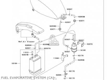 Kawasaki 2002 Vn750-a18 Vulcan 750 parts list partsmanual