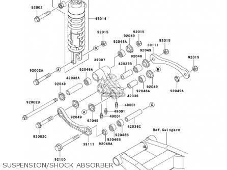 Kawasaki 2002 Zr750-h2 Zr-7s parts list partsmanual partsfiche