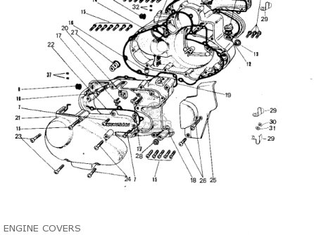 Kawasaki A7 Avenger 1967 Usa parts list partsmanual partsfiche