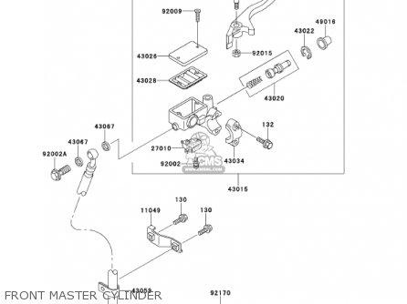 Kawasaki AN110D3 KAZER 2001 CANADA parts lists and schematics