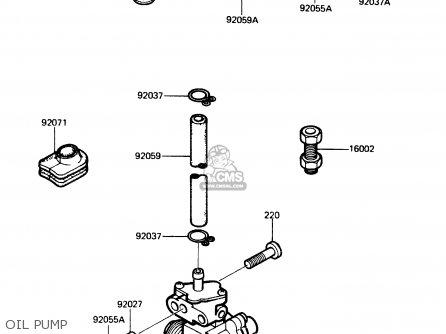 Kawasaki Ar125a1a 1983 Europe Uk Fr Sd St parts list