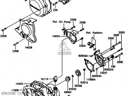 Kawasaki AR125B4 1987 UNITED KINGDOM FRANCE parts lists