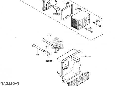 Kawasaki AR50A1 1982 USA parts lists and schematics