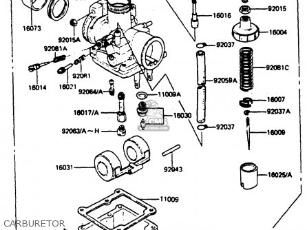 Kawasaki AR50C2 1984 UNITED KINGDOM GR ST parts lists and
