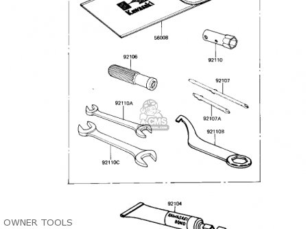 Kawasaki Ar80a1 1982 Usa parts list partsmanual partsfiche
