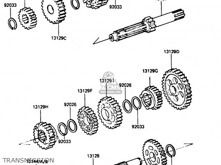 Kawasaki Ar80c2 1984 Usa / Mph parts list partsmanual
