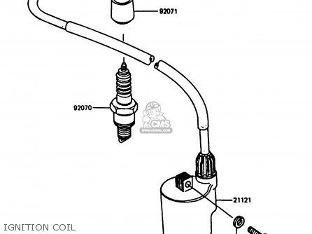 Kawasaki AR80C5 1987 USA / MPH parts lists and schematics