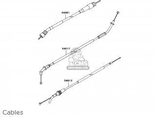 Kawasaki AX125BAF FURY 125R 2010 USA parts lists and