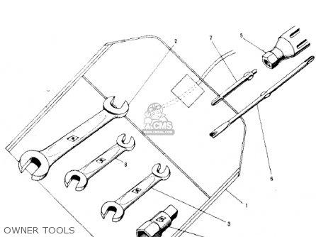 Kawasaki C2SS ROADRUNNER 1968 USA parts lists and schematics