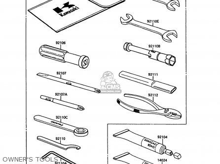 Kawasaki El250b2 Eliminator 1988 Fg parts list partsmanual