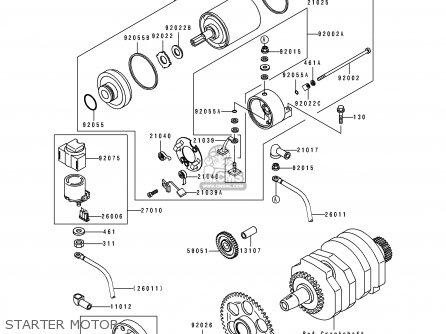Kawasaki EL250E1 ELIMINATOR 1991 EUROPE FR IT parts lists