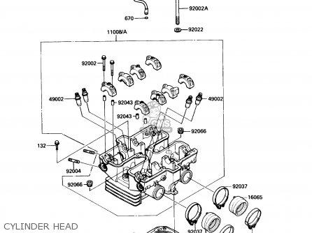 Kawasaki EN450A6 454LTD 1990 USA CALIFORNIA CANADA parts
