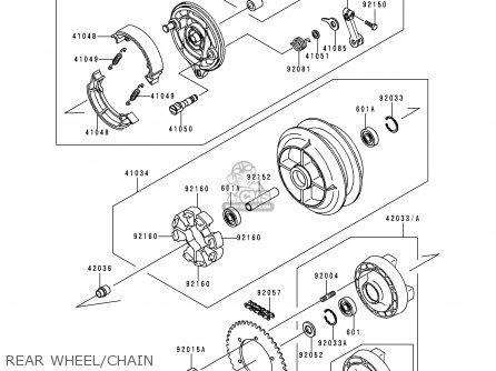 Kawasaki EN500C4 VULCAN500LTD 1999 USA CALIFORNIA parts
