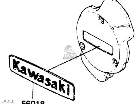 Kawasaki Er250b1 Scorpion 1983 Usa parts list partsmanual