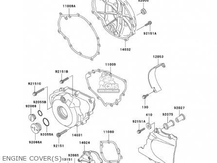 Kawasaki ER500C1 ER5 2001 CANADA parts lists and schematics